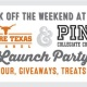 We Are Texas launch!