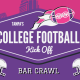 Tampa's College Football Kickoff Bar Crawl