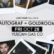Autograf + Goldroom Live Fall Tour at Vulcan - 10/28