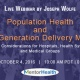 conference on Population Health and Hospitals, Health Systems and Medical Groups 2016
