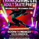 Thanksgiving Eve Adult Skate Party!