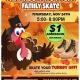 Thanksgiving $1 Roller Skating!
