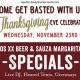Thanksgiving Eve @ La Palapa