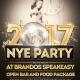 New Years Eve 2017 at Brando's Speakeasy!