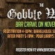 The Gobble Wobble ~ Thanksgiving Themed Bar Crawl