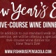 Celebrate New Year's Eve at The Fish House!