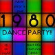 New Year's Eve 1980s Dance Party