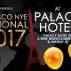 NYE International Ball 2017 / Palace HOTEL / OPEN BAR