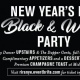 New Year's Eve Black and White Party