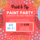 Paint and Sip Paint Party @ Nefetari's Hosted by The Fuzzy Pineapple