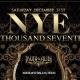 New Years Eve 2017 Party at Truth & Alibi