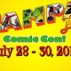 Tampa Bay Comic Con - July 28-30, 2017
