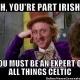 St. Patrick's Day PreGame Trivia