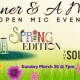"Dinner & A Mic ""Spring Edition"""