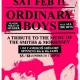Ordinary Boys (The Smiths & Morrissey Tribute) + DJ Cam