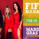 Fifth Harmony at Universal Mardi Gras