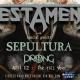 Testament w/ Sepultura + Prong - Tampa - The RITZ Ybor