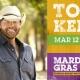 Toby Keith at Universal Mardi Gras