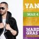 Yandel at Universal Mardi Gras
