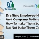 What are the essential disclaimers your employee handbook should contain?