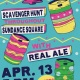 Flying Saucer Easter Keg Hunt with Real Ale