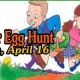 Our Annual Easter Egg Hunt for ages two