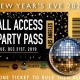 Los Angeles All-Access New Years Multi-Party Pass