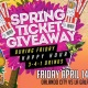 Friday Happy Hour Spring Ticket Giveaway