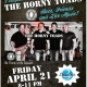 Live Music Friday 8-11 by The Horny Toads