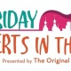 Friday Concerts in the Park featuring The Hummingbirds