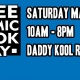 Free Comic Book Day at Daddy Kool Records!