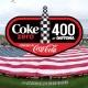 Coke Zero 400 Powered By Coca-Cola