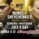 Watch UFC 213 Nunes vs Shevchenko 2 at GameTime!