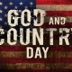 God and Country Day