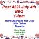 Post 4225 July 4th BBQ