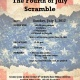 The Fourth of July Scramble
