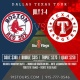 Red Sox vs Rangers and Six Flags for 4th of July