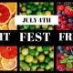 July Fourth Fruit Fest Frenzy