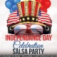 Indepedance Day Salsa Party - Monday for one night!