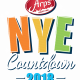 Arps Dairy NYE 2018 Countdown Lighted 7 Ft Milk gallon drop with Sam Hornish JR