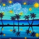 Wine & Canvas: Starry Mission Bay