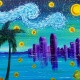Wine & Canvas: Starry San Diego