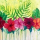 Wine & Canvas: Tropical Delight
