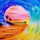 Wine & Canvas: Surfing San Diego