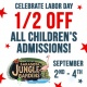 Labor Day Weekend with Sarasota Jungle Gardens