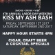 Kiss My Ash Bash 4th Annual Labor Day Weekend