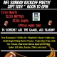 Cooters Annual NFL Kickoff Party
