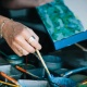 Encaustic Painting Class at Studios of Cocoa Beach