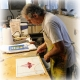 Introduction to Stained Glass Class at Studios of Cocoa Beach