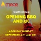 MEOR Maryland Opening BBQ and 5K